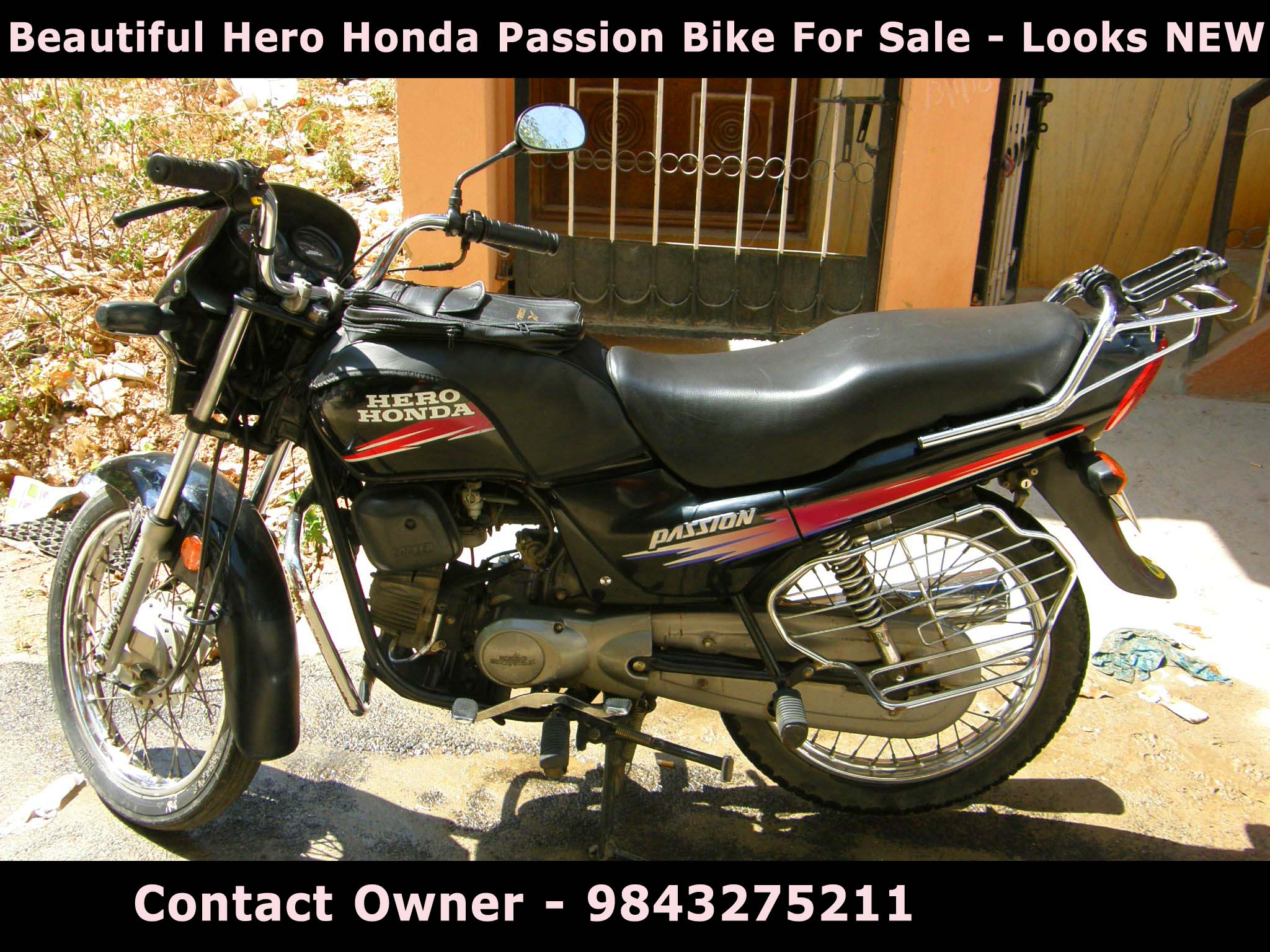 Hero Honda Passion Bike For Sale - Looks New