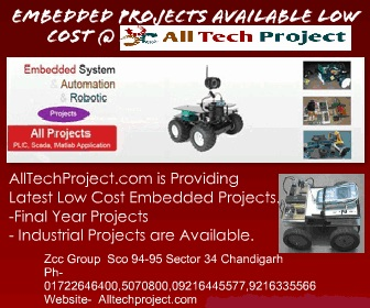 Embedded Projects Available at Low Cost @ AllTechP