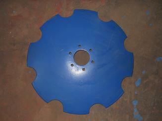 Harrow Disc Blade Notched   22 x 5 mm