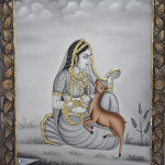 Tanjore Paintings Lord Krishna 9873261820
