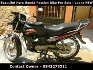 Hero Honda Passion Bike For Sale-Looks New