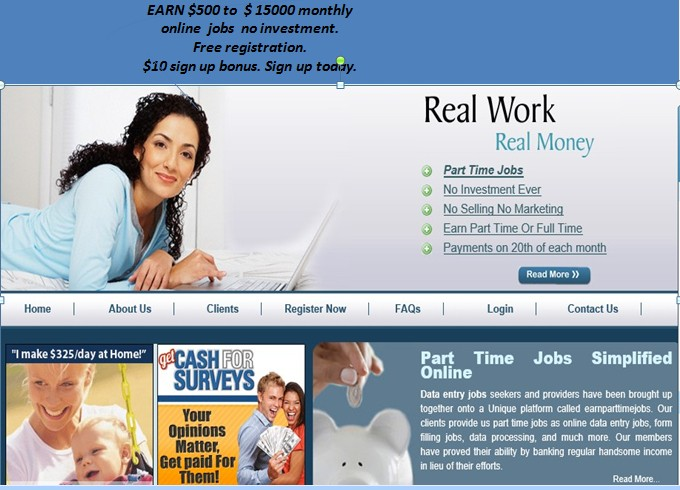 work from home use comp and internet