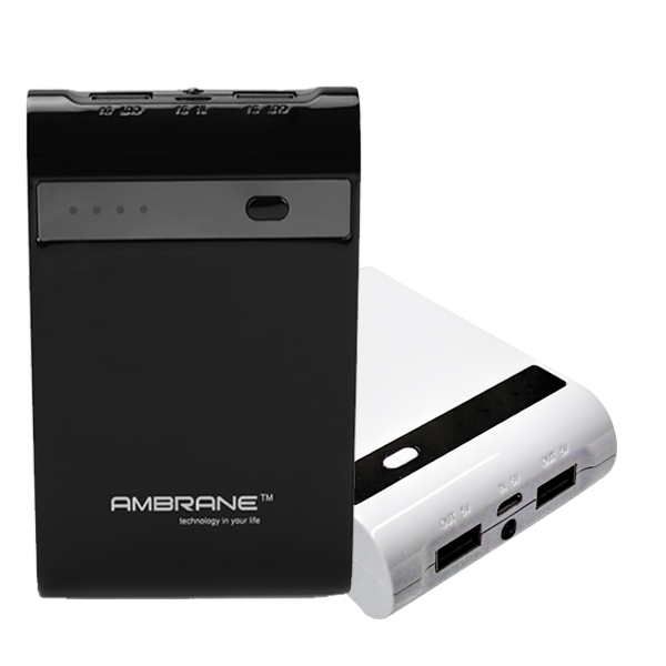 Back-up Devices: Ambrane Power Bank P1000 Star