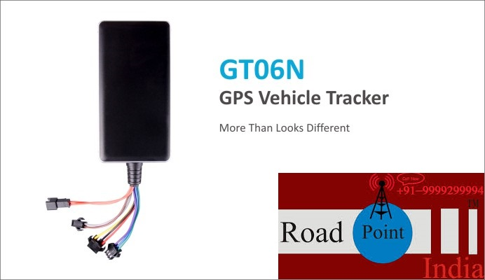 RoadPoint India GPS Vehicle Tracker GT06N