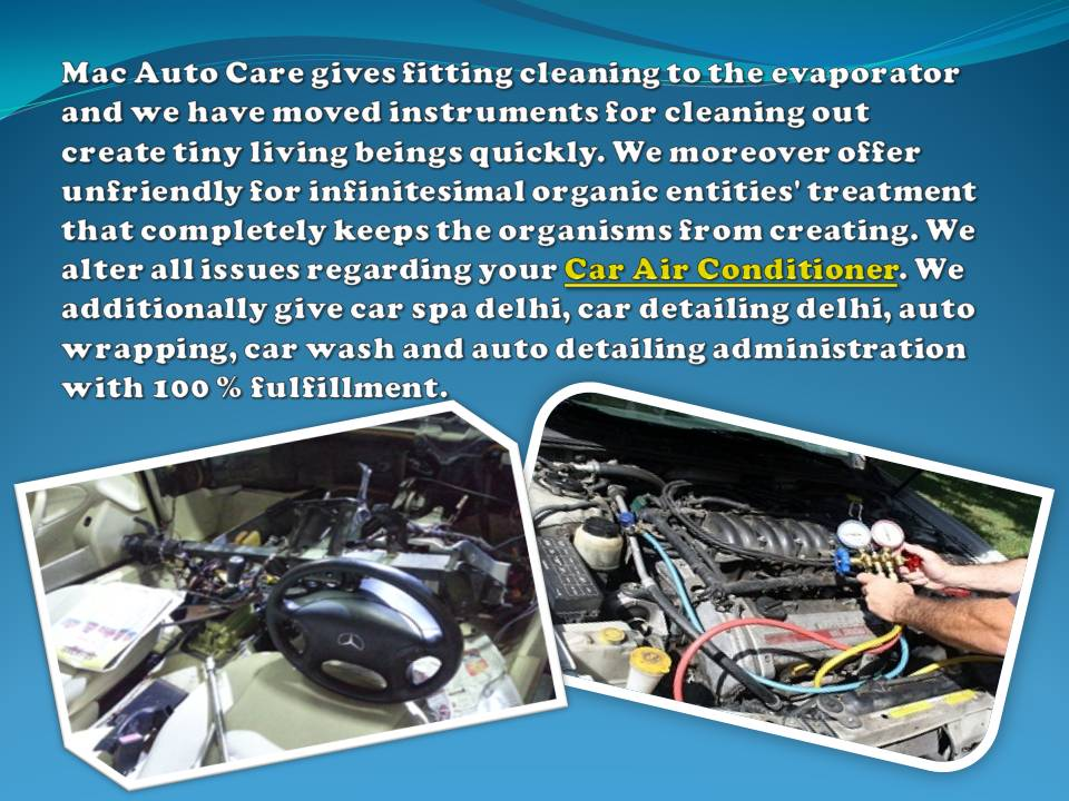 Car Air Conditioning Delhi Service