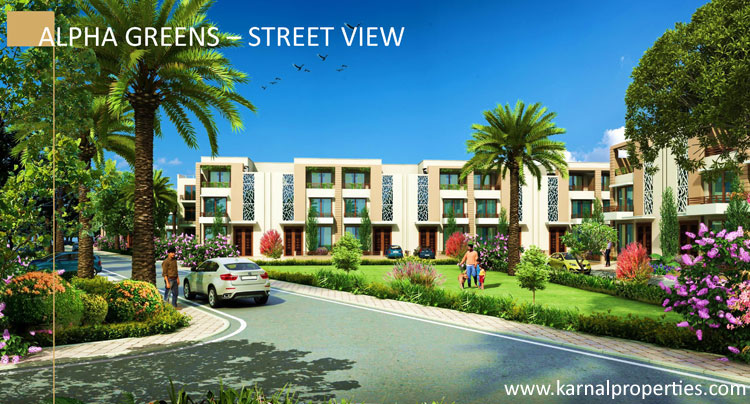 Independent villas in alpha international city