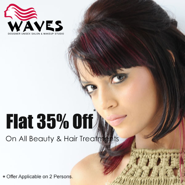 Get  50% off on all beauty treatments and hair sty