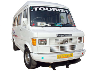 Sofa Seater Tempo Traveller on Rent with Ac