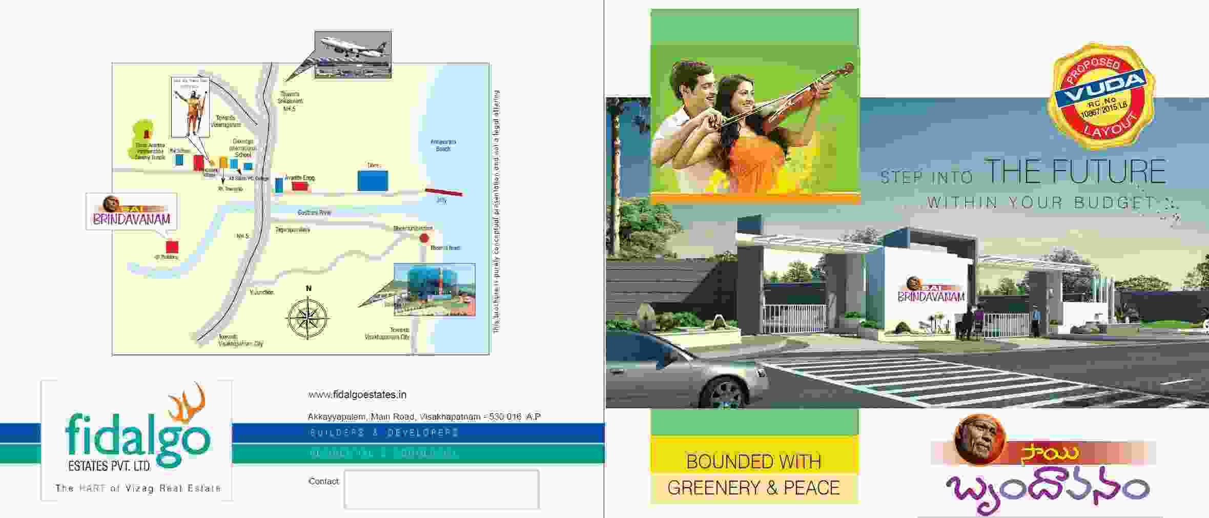 OPEN PLOTS FOR SALE AT PANDRANGI IN SMART VISAKHA