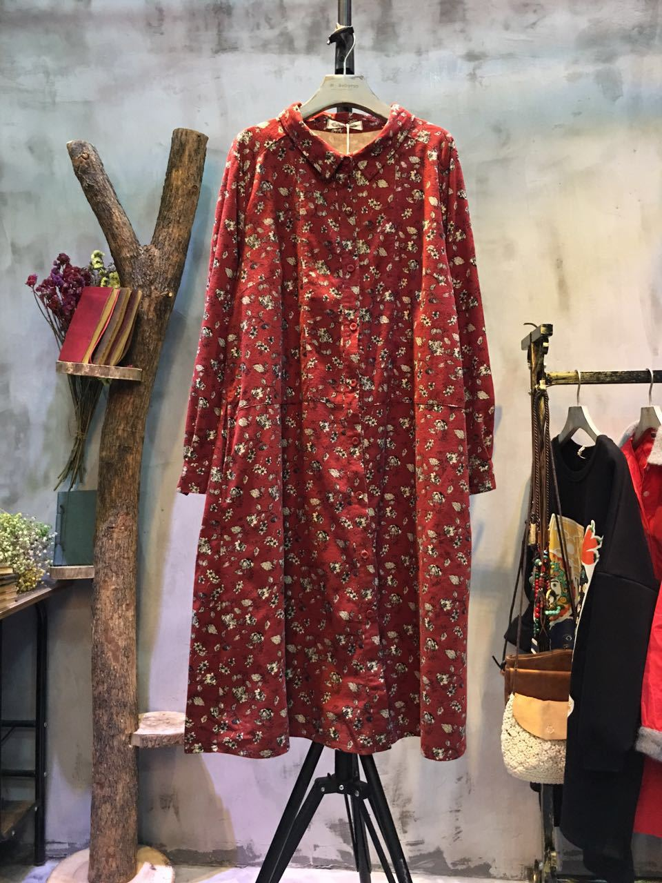 Forest Girl Plus Size Floral Dress Beautiful Maxi