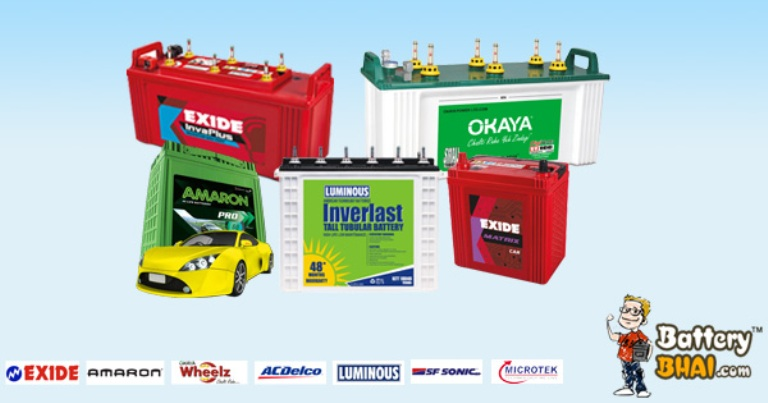 Buy Car Battery Online at Best Prices in Delhi