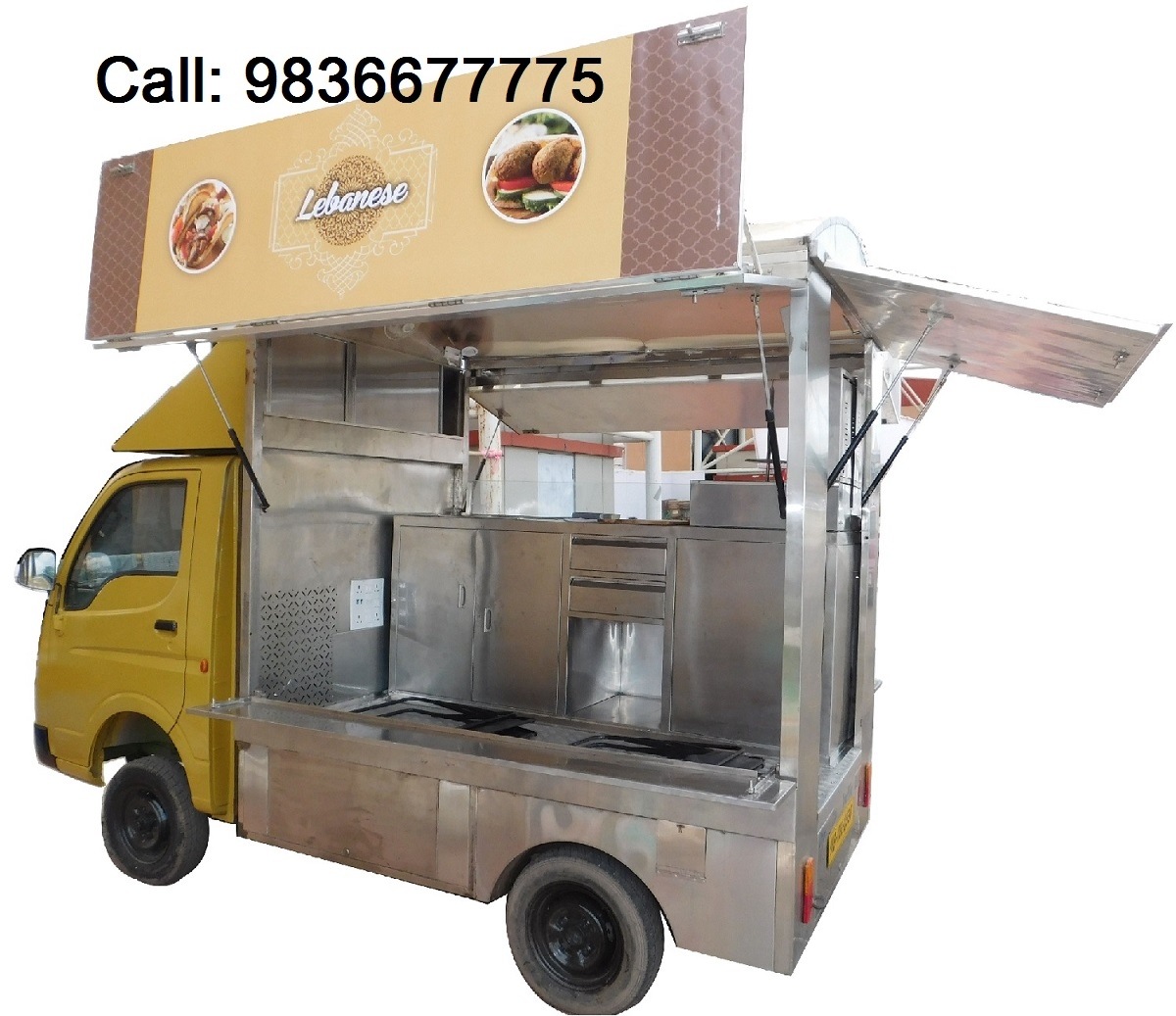 Customized Mobile Food Truck at Reasonable Price