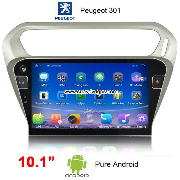 Peugeot 301 Android Car Radio GPS WIFI Satellite