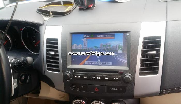 Peugeot 4007 Android Car Radio DVD GPS WIFI camera