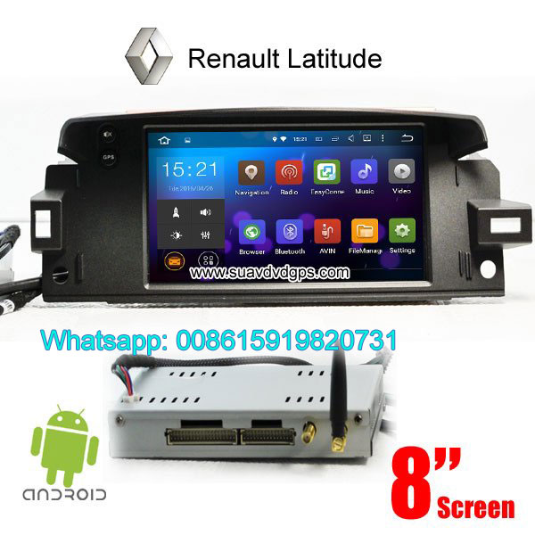 Renault Latitude Android Car Radio GPS WIFI naviga