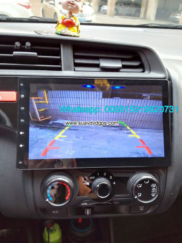 Honda Jazz Fit refit audio radio Car android GPS