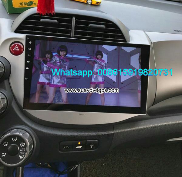 Honda Jazz Fit stereo radio Car android wifi GPS M