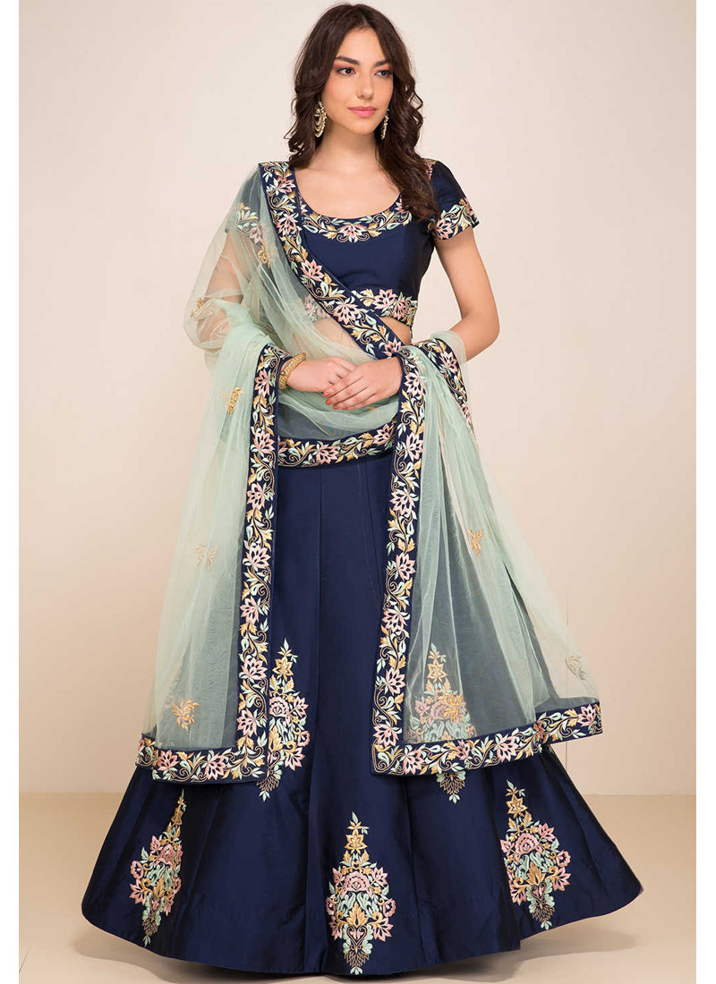 Find the Latest Party Wear Lehengas the Easy Way