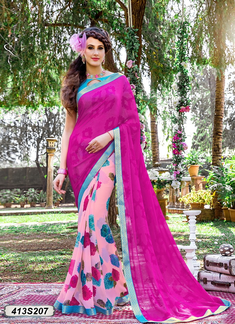 Buy Georgette Saree Online in India