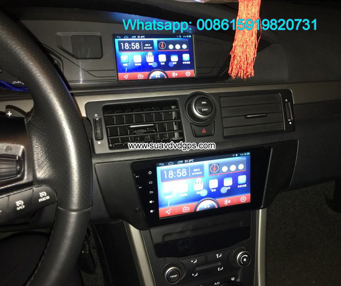 MG6 MG 6 MG 550 audio radio Car android wifi GPS