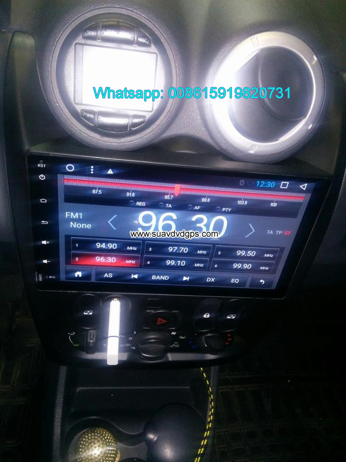 Renault Logan Sandero audio radio Car android GPS