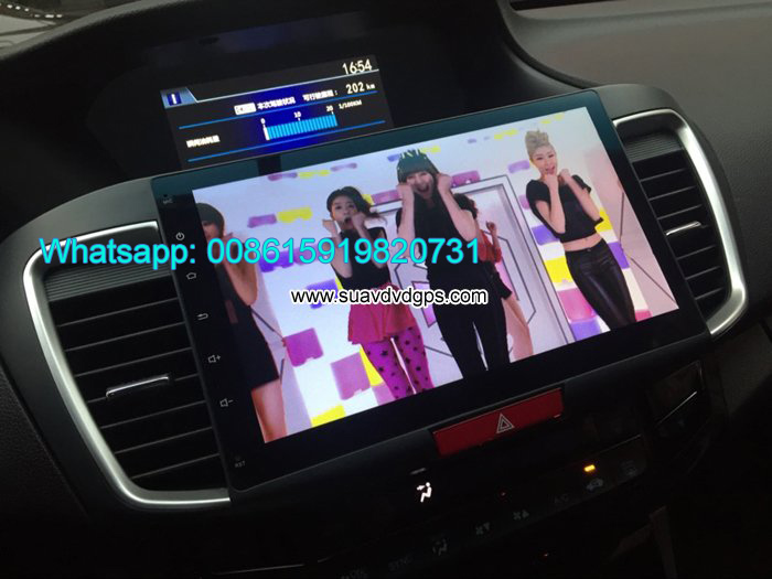 Honda Accord audio radio Car android GPS camera