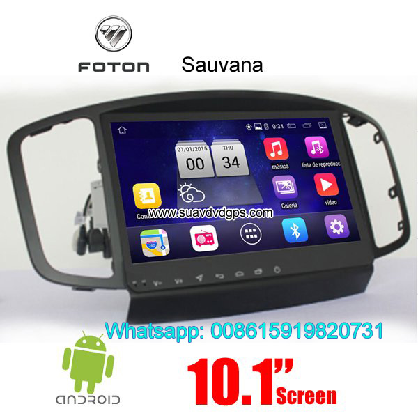 Foton Sauvana Car parts radio android wifi GPS cam