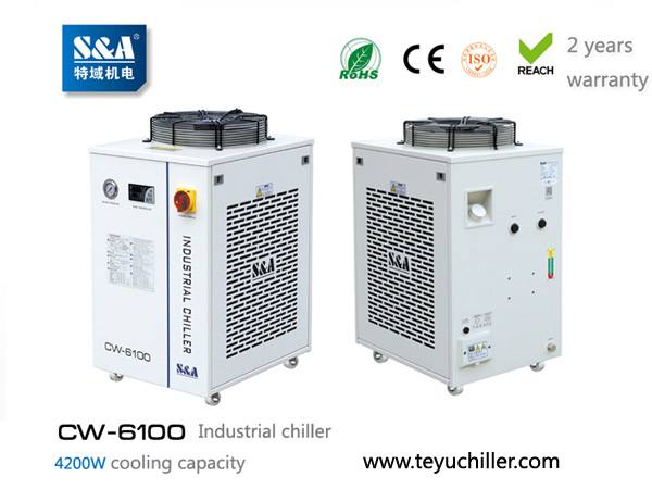 S&A compressor refrigeration chillers for vacuum