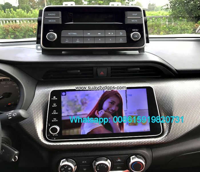 Nissan Micra 2017 radio Car android wifi GPS camer