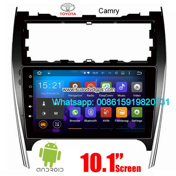 Toyota Camry USA AU UK audio radio Car android GPS