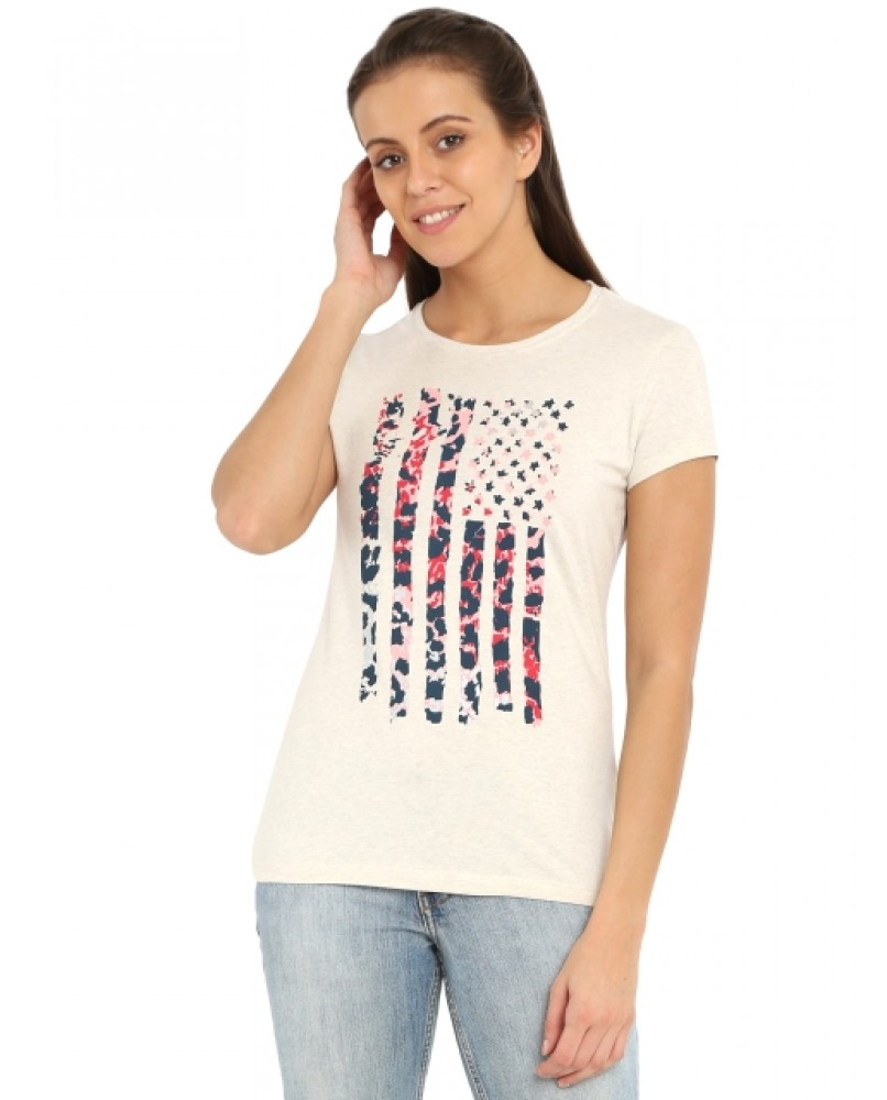 Crew Neck Graphic T-shirt Just for Rs. 499/-