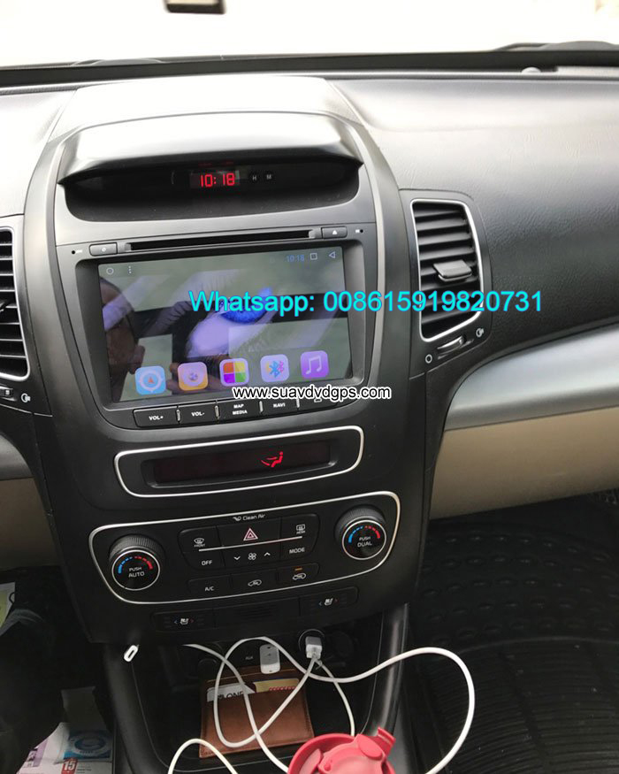Kia Sorento car audio radio android wifi dvd GPS c