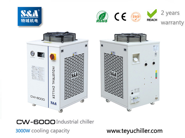 S&A recirculating water chiller CW-6000 AC220/110V
