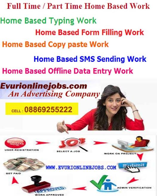 Simple Typing Work From Home / Part Time Home Base