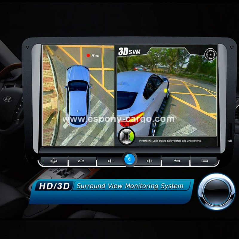 Car 3D 360°Surround View Panorama System