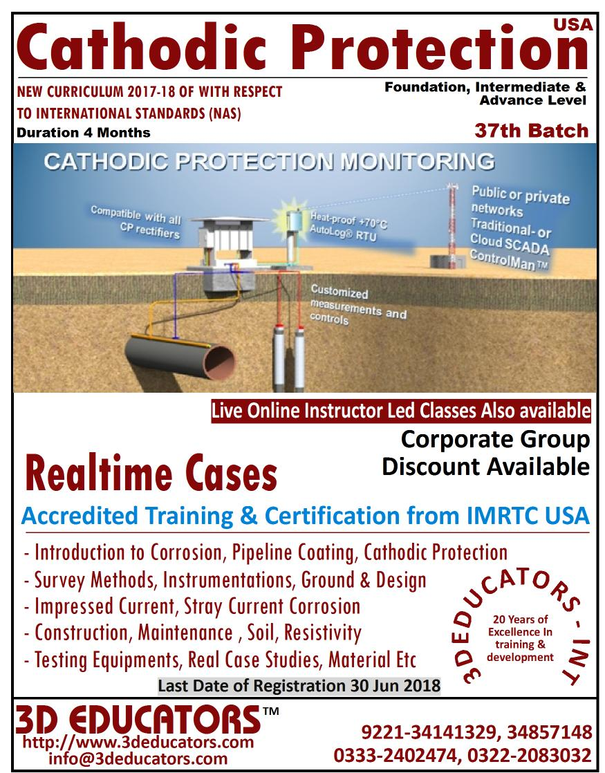 Cathodic Protection Training (Intermediate & Profe