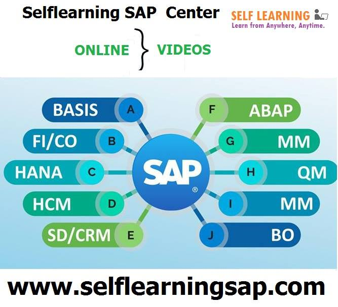Looking for SAP Selflearning Course videos are ava