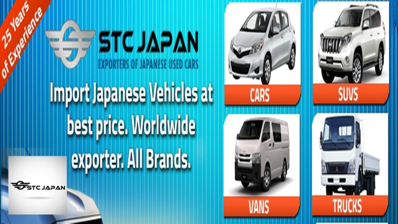 Special Stock for Diplomats - Japanese Cars by STC