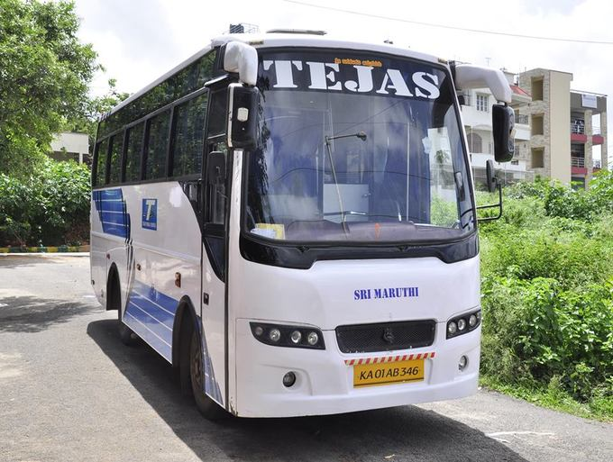35 Seater Bus hire or rent for 36rs per KM with dr