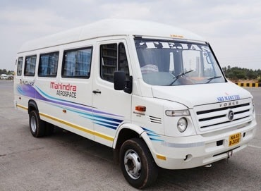 Hire/Rent a 15 seater Tempo Traveller Online Mysor