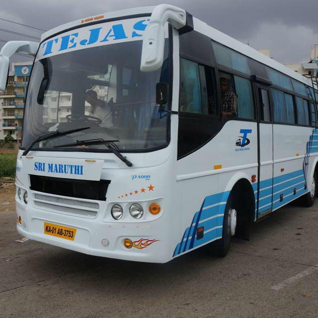 50 Seater Bus hire or rent for 36rs per KM with dr