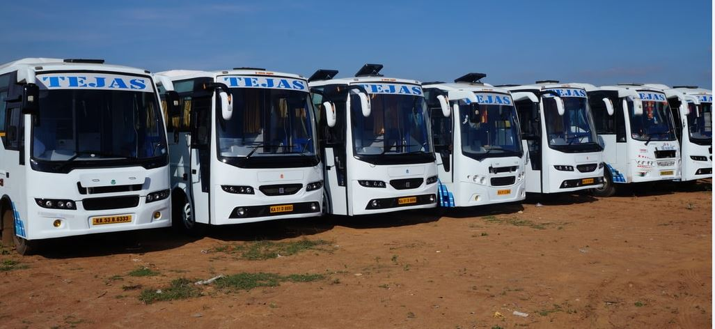 Hire or Rent a bus for Outstation Trips from Hosko