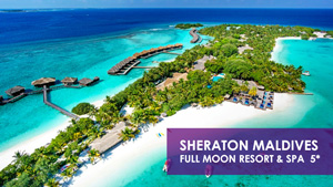 Luxurious Maldives for 2N/3D at Rs. 23805 onwards