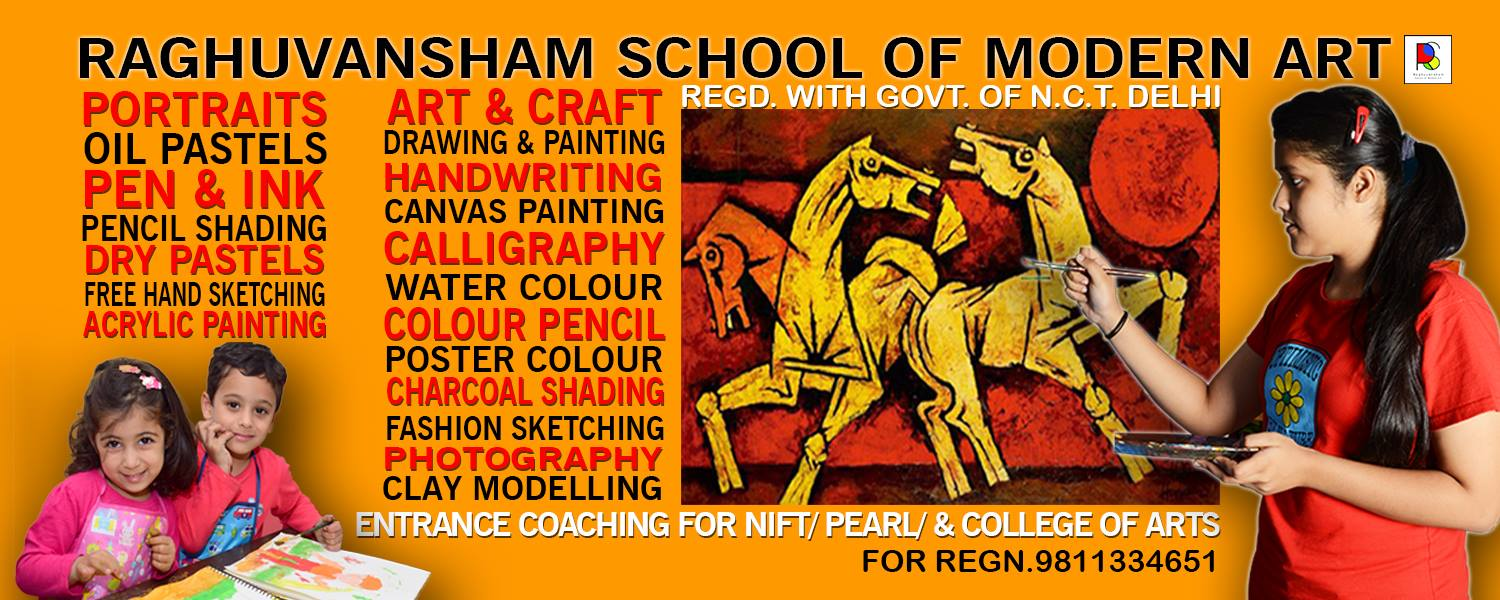 Entrance Coaching for NIFT, PEARL, College of Art