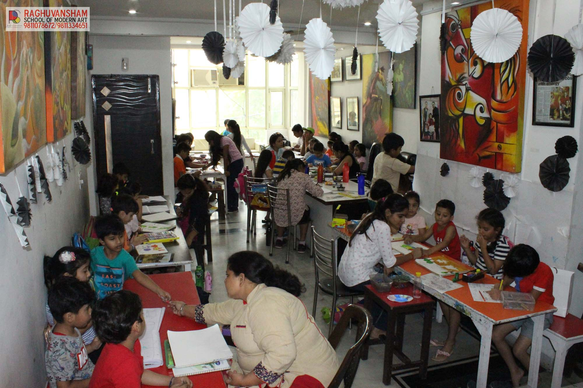painting for kids by raghuvansham in rohini sector