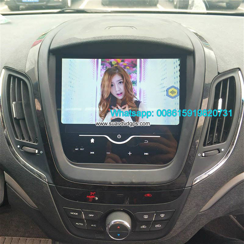 MG 5 Car stereo audio radio android GPS navigation