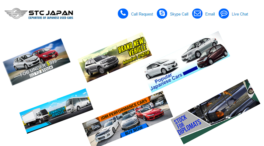 Japanese Used Cars for Sale - STC Japan