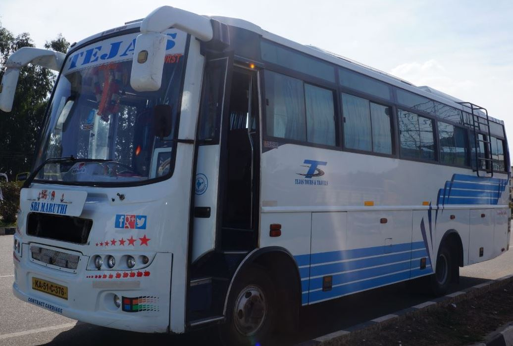 Hire or Rent 32 Seater Bus for 29rs per KM