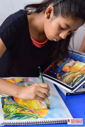 drawing paintiing classes in paschim vihar