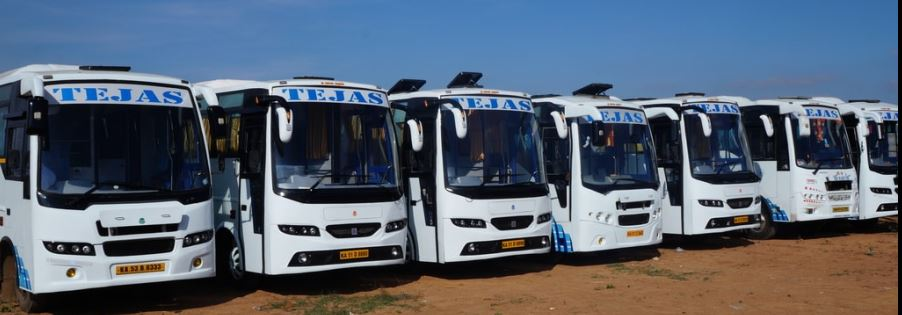 Hire or Rent a bus for Outstation Trip, Bengaluru